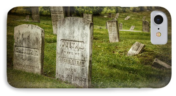 The Old Burial Ground IPhone Case by Joan Carroll