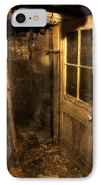 The Old Cellar Door IPhone Case by Dan Stone