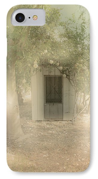 The Old Chook Shed IPhone Case by Elaine Teague