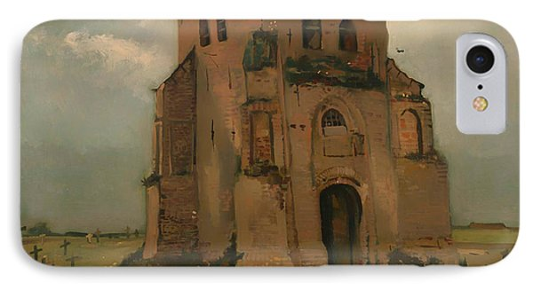 The Old Church Tower At Neunen IPhone Case by Mountain Dreams