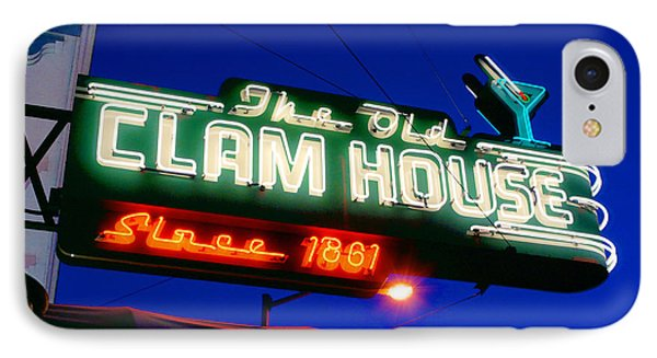 IPhone Case featuring the photograph The Old Clam House by Luis Esteves