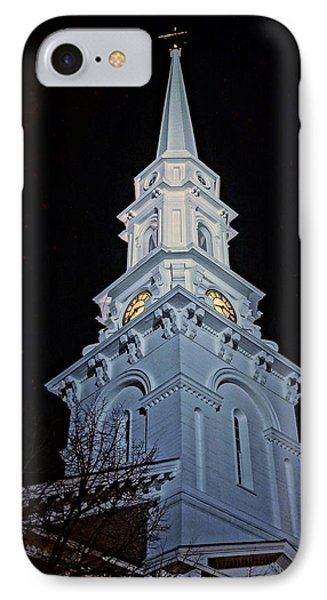 The Old Clock Tower 01 IPhone Case