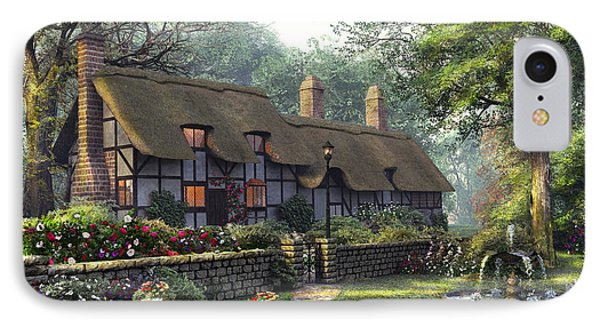 The Old Cottage IPhone Case by Dominic Davison
