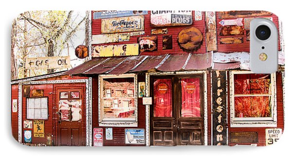 IPhone Case featuring the photograph The Old Country Store by Cathy Donohoue