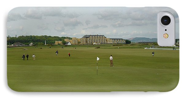 The Old Course IPhone Case by Deborah Smolinske