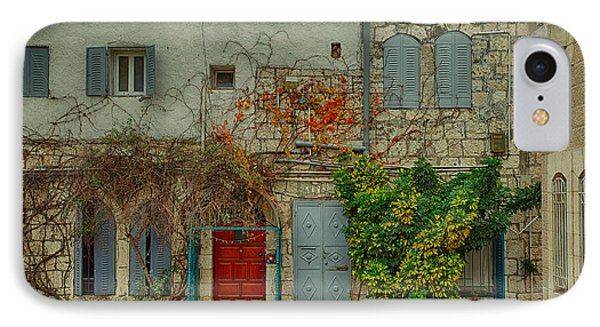 IPhone Case featuring the photograph The Old Courtyard by Uri Baruch