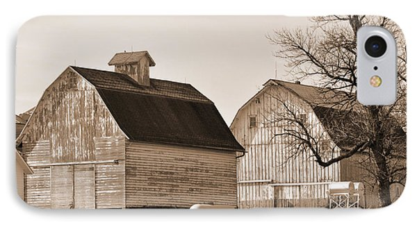 IPhone Case featuring the photograph The Old Farm by Kirt Tisdale