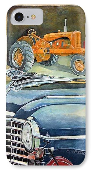 The Old Farm Phone Case by Rick Huotari