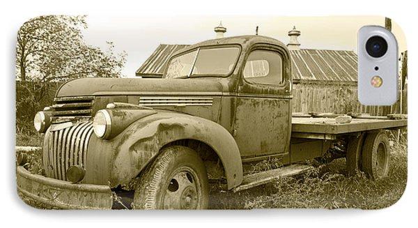 The Old Farm Truck Phone Case by John Debar