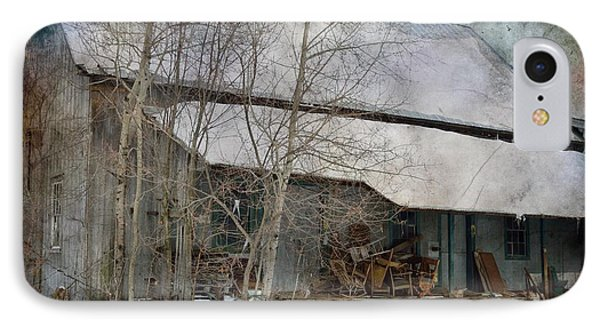 The Old Feed Mill IPhone Case by Cynthia Nichols