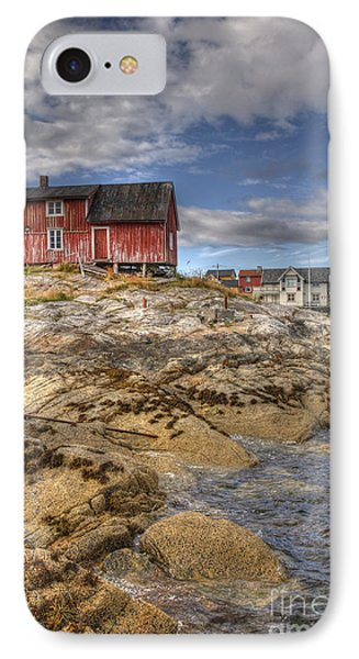 The Old Fisherman's Hut Phone Case by Heiko Koehrer-Wagner