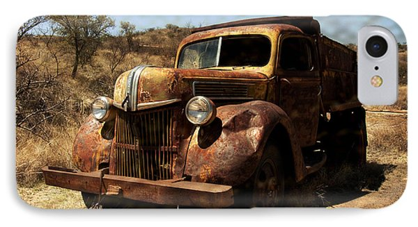 The Old Ford IPhone Case by Lucinda Walter