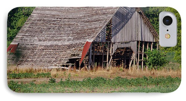 IPhone Case featuring the photograph The Old Gray Barn by Nick Kirby