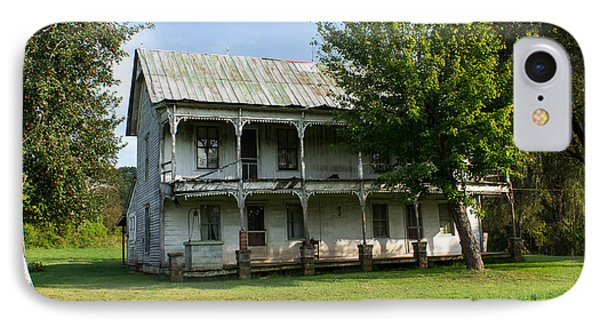 The Old Home Place 1 IPhone Case by Douglas Barnett