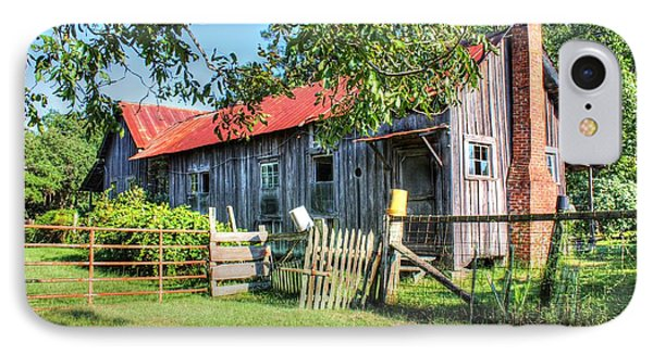 IPhone Case featuring the photograph The Old Home Place by Lanita Williams