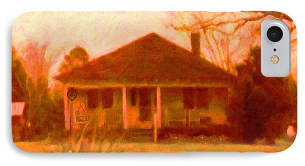 The Old Home Place IPhone Case by Rebecca Korpita