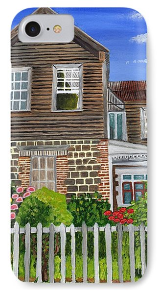 IPhone Case featuring the painting The Old House by Laura Forde
