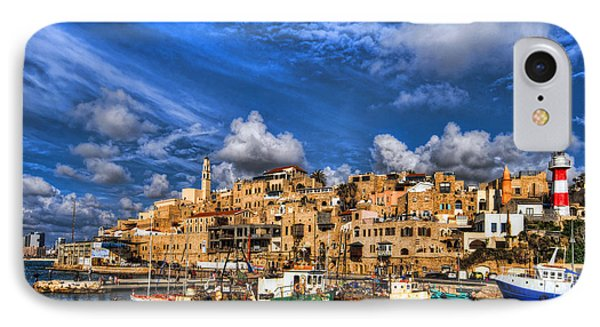 the old Jaffa port Phone Case by Ron Shoshani