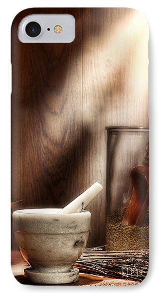 The Old Lavender Artisan Shop IPhone Case by Olivier Le Queinec