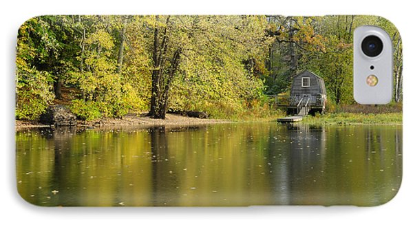 The Old Manse Boathouse IPhone Case