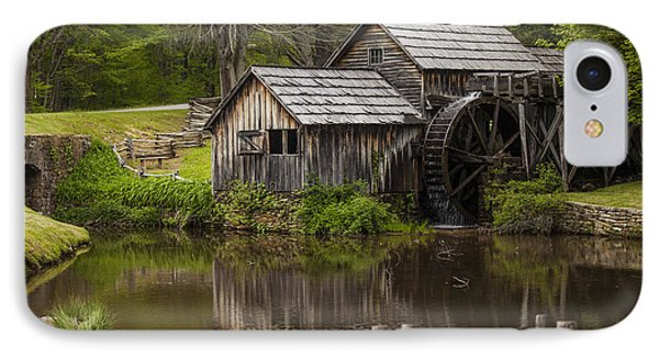 The Old Mill After The Rain Phone Case by Amber Kresge
