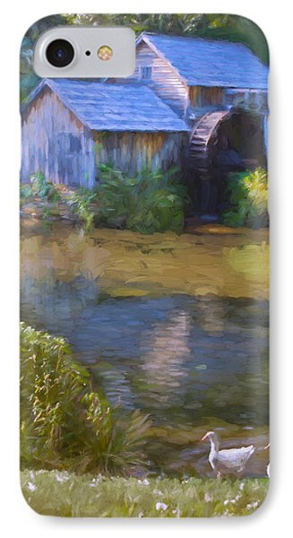 The Old Mill At Mabry IPhone Case by Jean-Pierre Ducondi