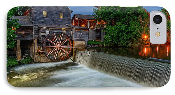 The Old Mill At Twilight IPhone Case by Anthony Heflin