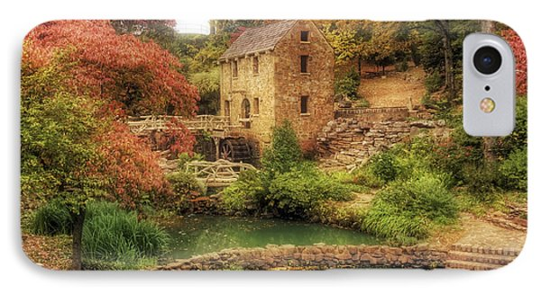 The Old Mill In Autumn - Arkansas - North Little Rock IPhone Case by Jason Politte