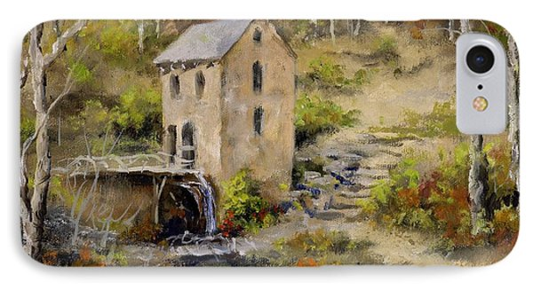 The Old Mill In Late Fall Phone Case by Virginia Potter