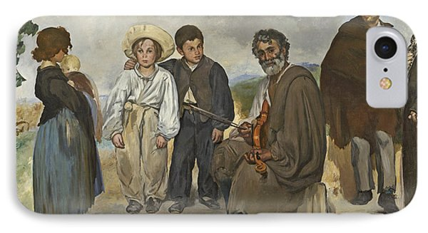 The Old Musician IPhone Case by Edouard Manet