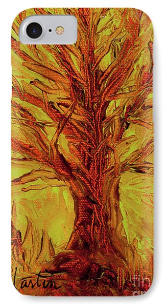 The Old Oak Tree I Phone Case by Larry Martin