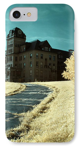 The Old Odd Fellows Home Color IPhone Case by Luke Moore