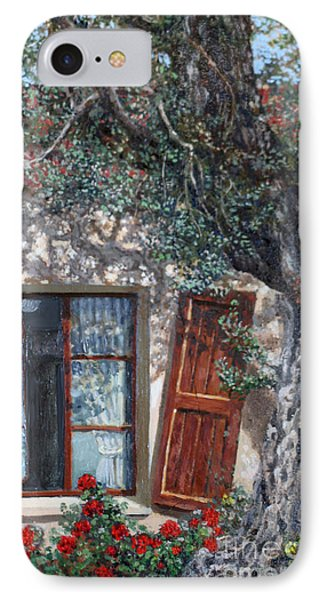 The Old Olive Tree And The Old House IPhone Case by Miki Karni