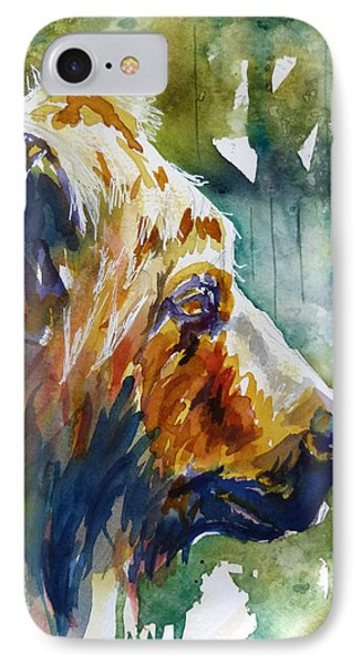IPhone Case featuring the painting The Old One by P Maure Bausch