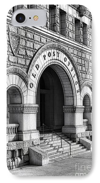 The Old Post Office Pavilion  IPhone Case by Olivier Le Queinec