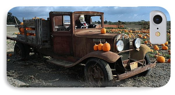 IPhone Case featuring the photograph The Old Pumpkin Patch by Michael Gordon