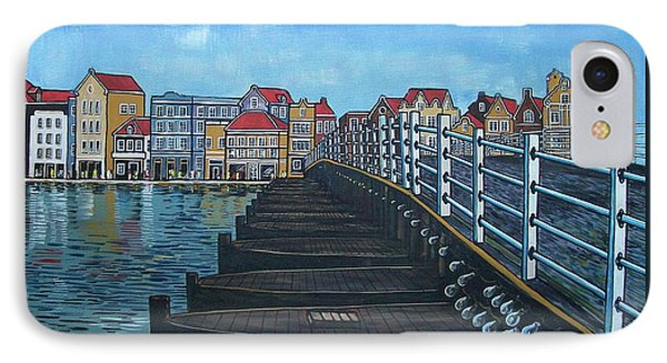 The Old Queen Emma Bridge In Curacao IPhone Case