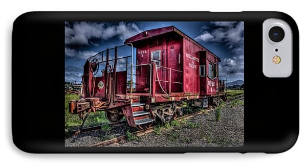 Old Red Caboose IPhone Case by Thom Zehrfeld