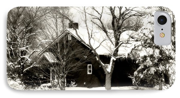 The Old Red House Phone Case by Heather Allen
