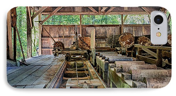 The Old Sawmill IPhone Case by Betty Depee