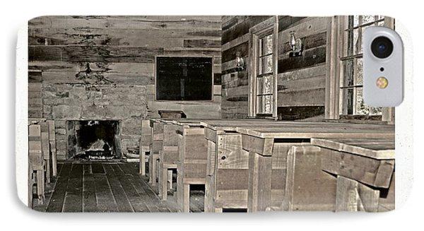 The Old Schoolhouse Phone Case by Susan Leggett