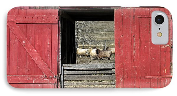 The Old Sheep Barn Phone Case by Olivier Le Queinec