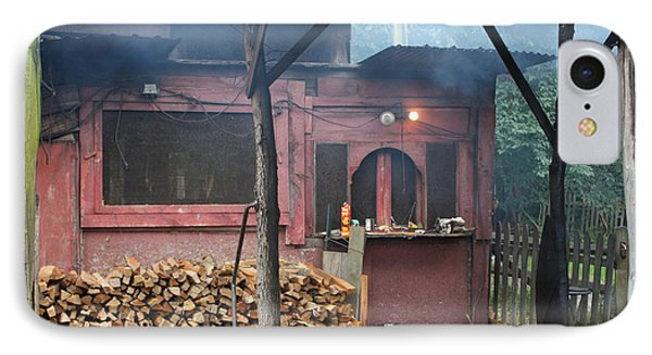 The Old Smoke Shack IPhone Case by Robin Regan