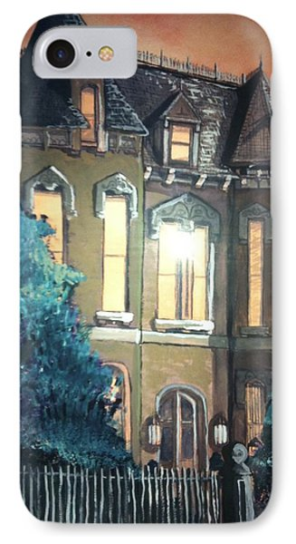 The Old Stegmeier Mansion Phone Case by Alexandria Weaselwise Busen