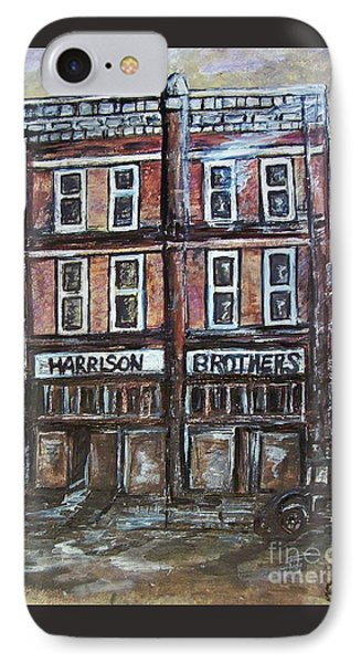 IPhone Case featuring the painting The Old Store by Eloise Schneider