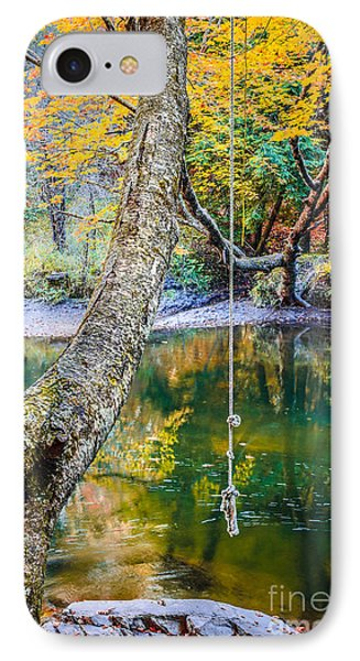 The Old Swimming Hole Phone Case by Edward Fielding