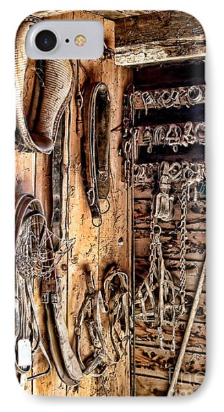 The Old Tack Room Phone Case by Olivier Le Queinec