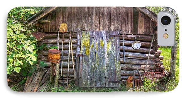 The Old Tool Shed II Phone Case by Lanita Williams