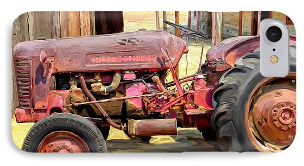 The Old Tractor Phone Case by Michael Pickett