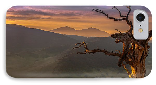 The Old Tree And Diablo IPhone Case by Marc Crumpler